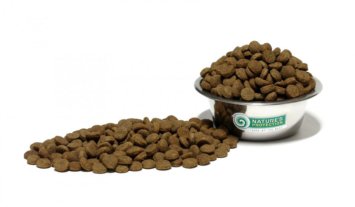 Nature's Protection Hypoallergetic/ Hipoalerģiskā suņu barība ar lasi bez graudiem 1.5 kg
