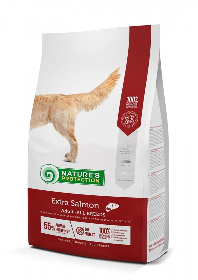 Nature's protection Extra Salmon ar lasi 18 kg