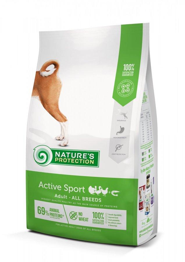 Natures Protection Active Sport sporta un medību suņiem 4kg