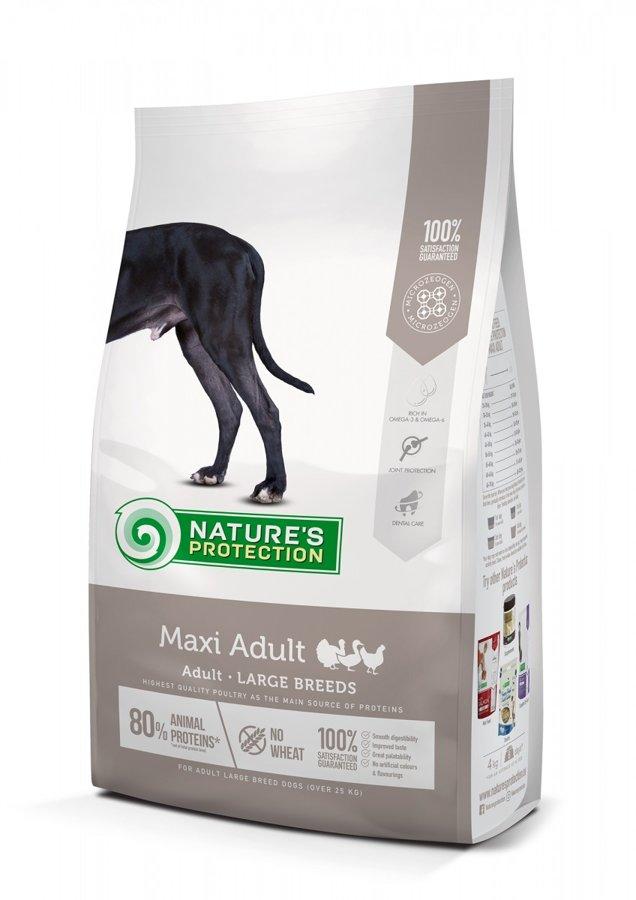 Natures Protection Maxi Adult pieaugušiem lielo šķirnu suņiem 18 kg